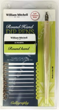 Round Hand Set by William Mitchell - Left Oblique